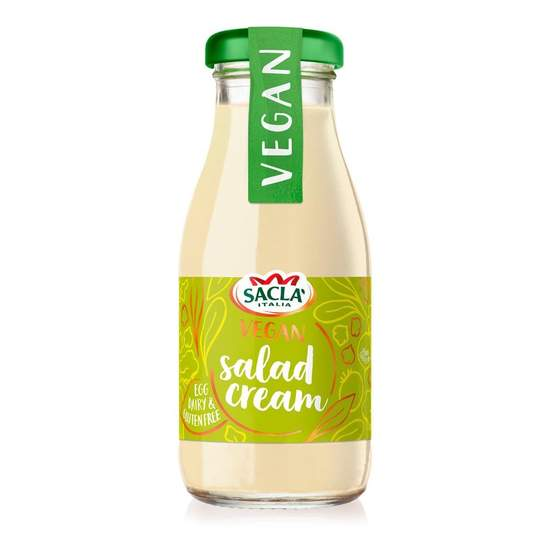 Sacla Vegan Salad Cream Dressing BEST BEFORE 30.04.2021