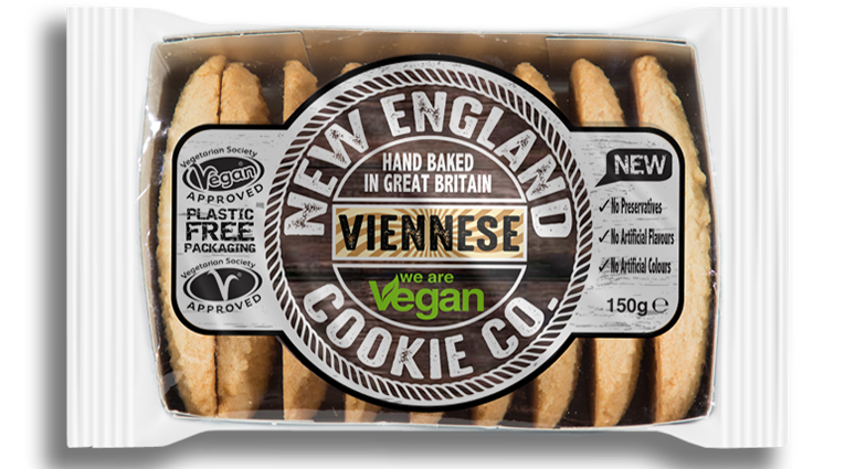 New England Cookie Co. Viennese Fingers - DAMAGED