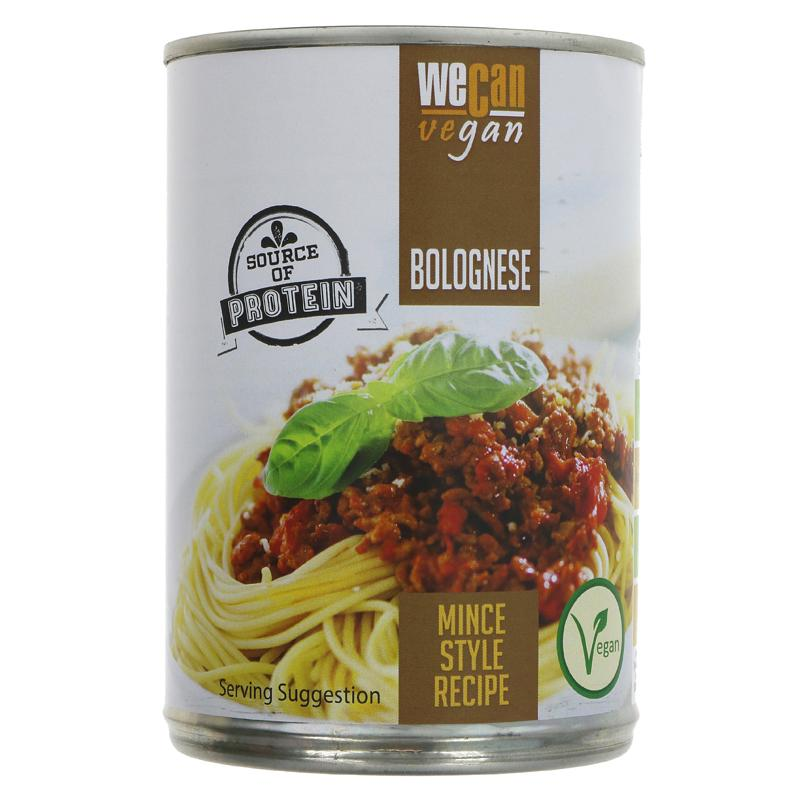 We Can Vegan Bolognese with meat free mince