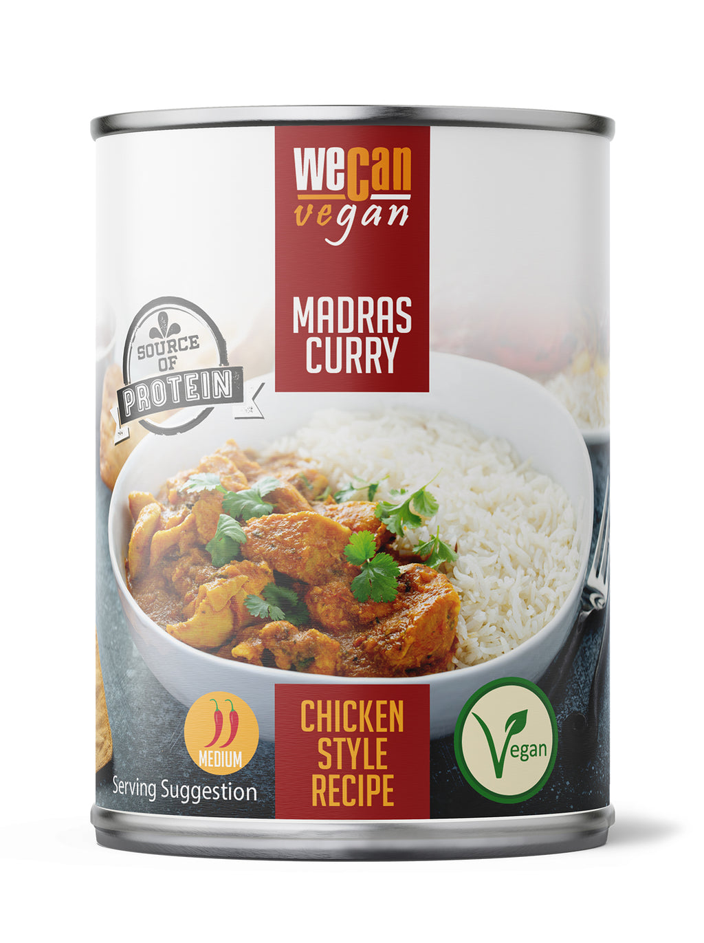 We Can Vegan Madras Curry
