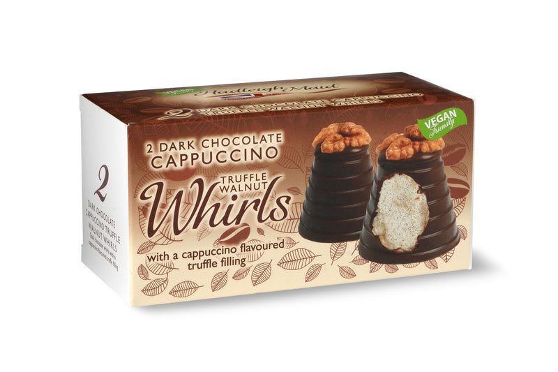 Hadleigh Maid Dark Chocolate Cappuccino Truffle Walnut Whirls