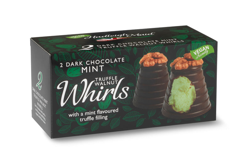 Hadleigh Maid Dark Chocolate Mint Truffle Walnut Whirls