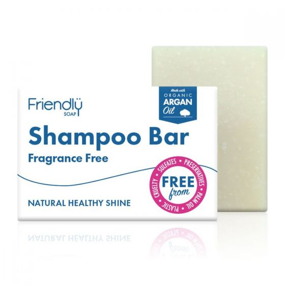 Friendly Soap Shampoo Bar Fragrance Free