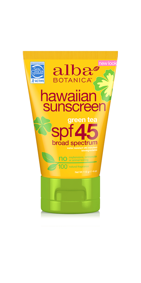 Alba Botanica Hawaiian Green Tea Sunscreen SPF 45