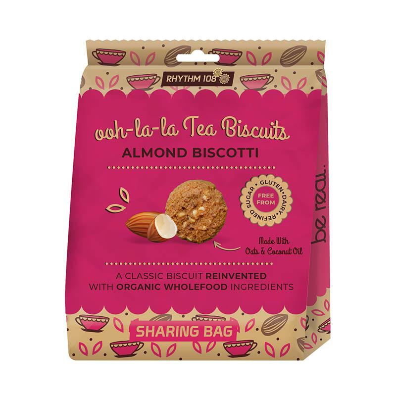 Rhythm 108 oh la la Tea Biscuits Almond Biscotti