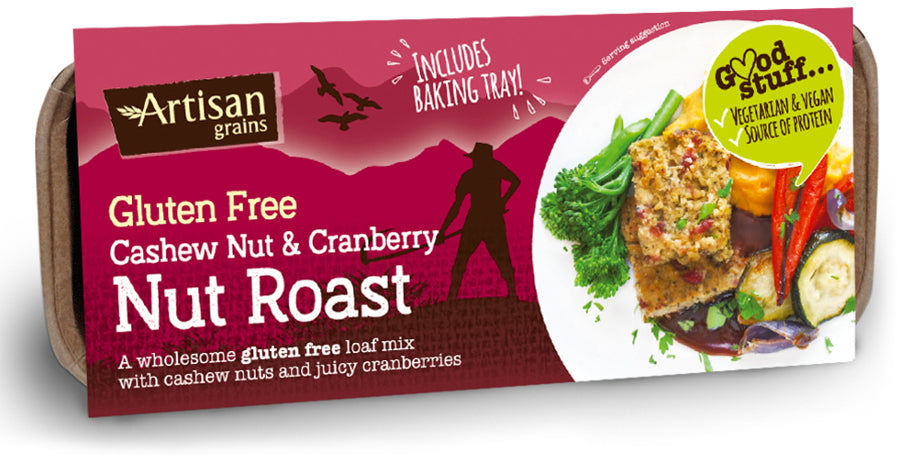 Artisan Grains Cashew Cranberry Nut Roast