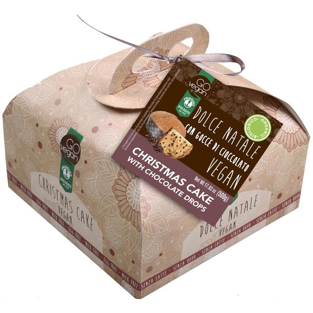 Go Vegan Organic Christmas Panettone with Chocolate Drops