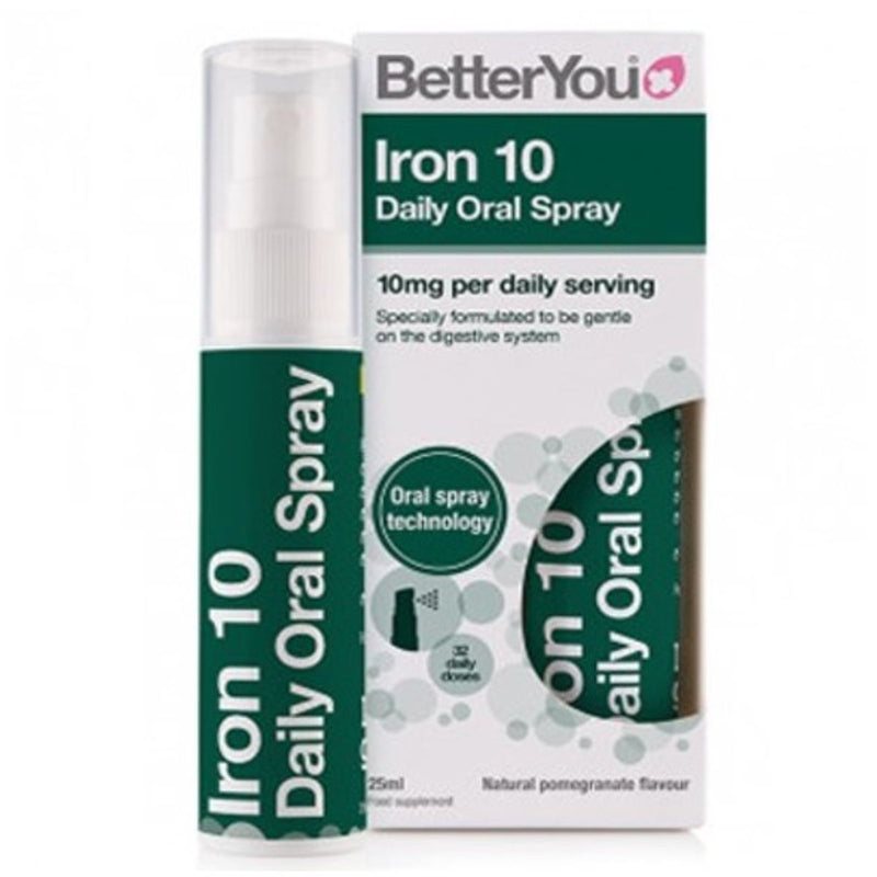 Better You Iron 10 Oral Spray