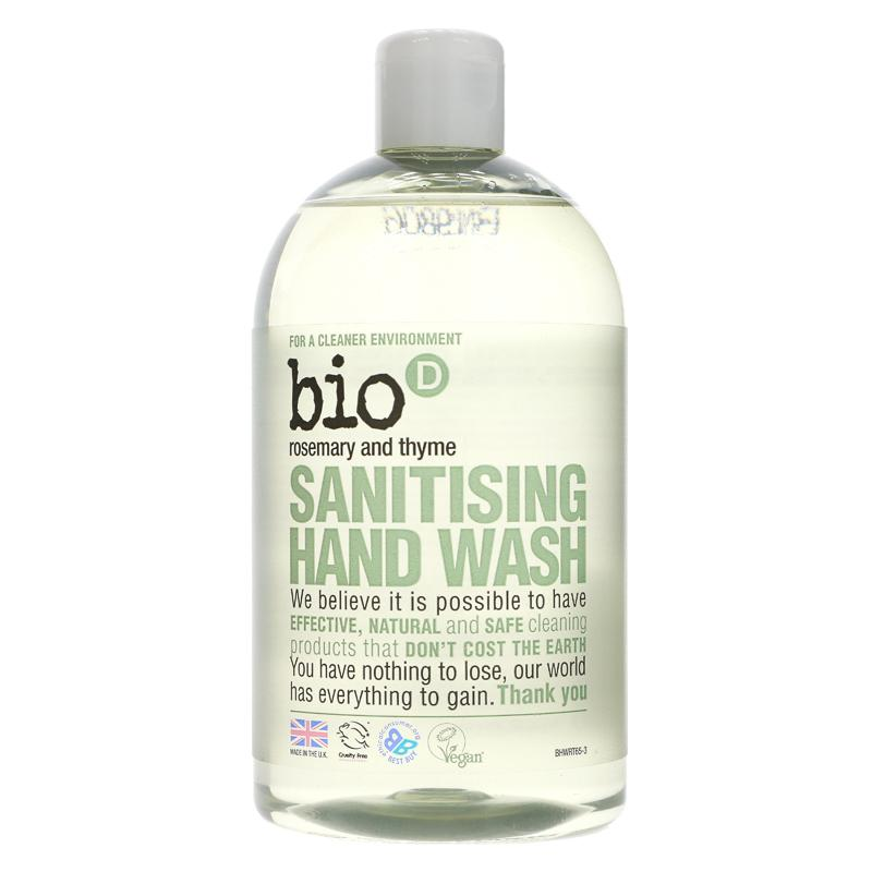 Bio D Sanitising Hand Wash Rosemary And Thyme