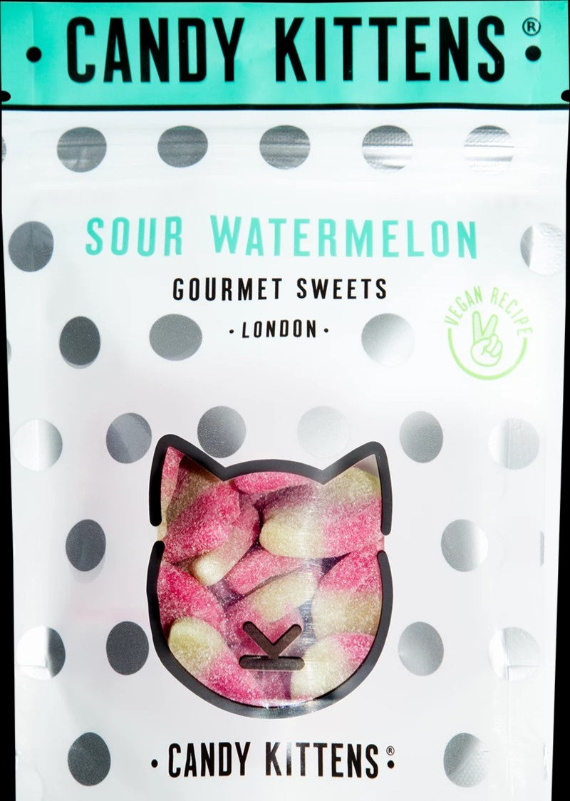Candy Kittens Sour Watermelon Gourmet Gummy Sweets