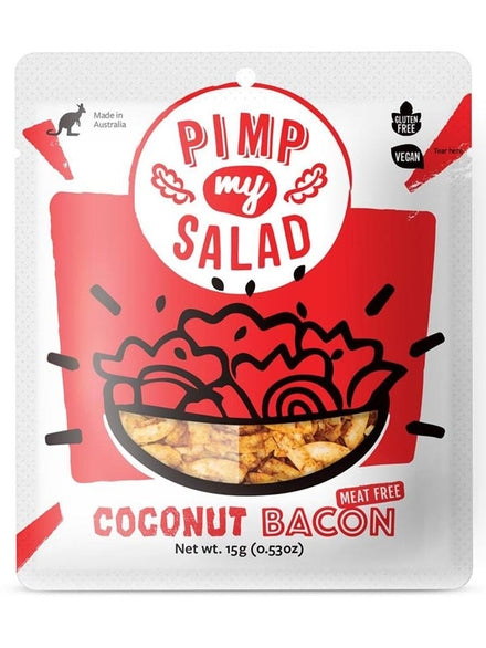 Pimp My Salad Vegan Coconut Bacon Single Serve 15g