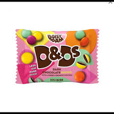 Doisy & Dam Dark Chocolate Candy Drops 30g BEST BEFORE 26.02.2021
