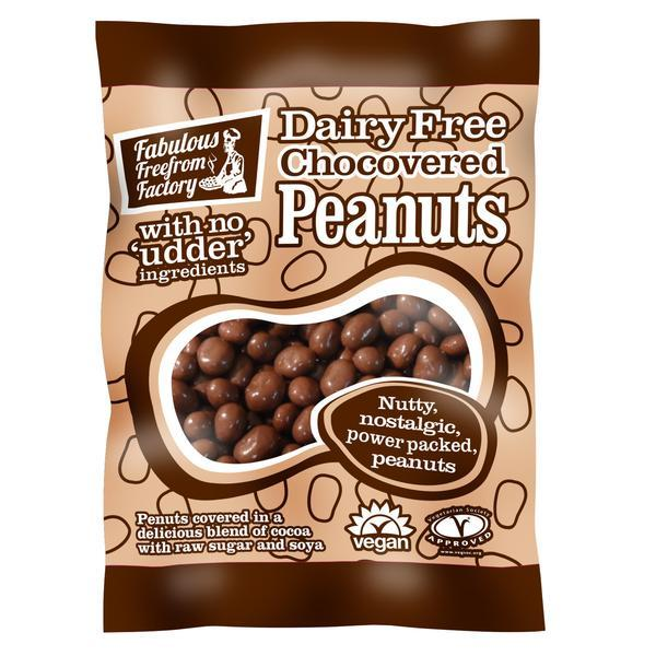 Fabulous Free from Factory Chocovered Peanuts BEST BEFORE END OF MARCH 21