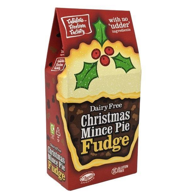 Fabulous Free From Factory Dairy Free Christmas Mince Pie Fudge