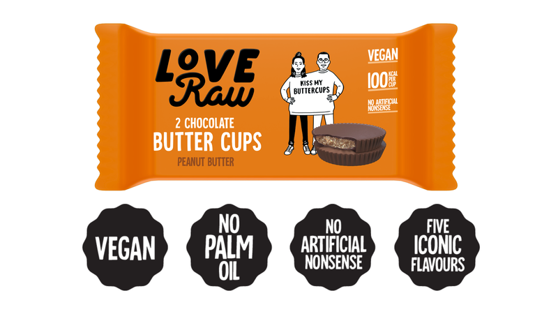 Love Raw Butter Cup Peanut Butter