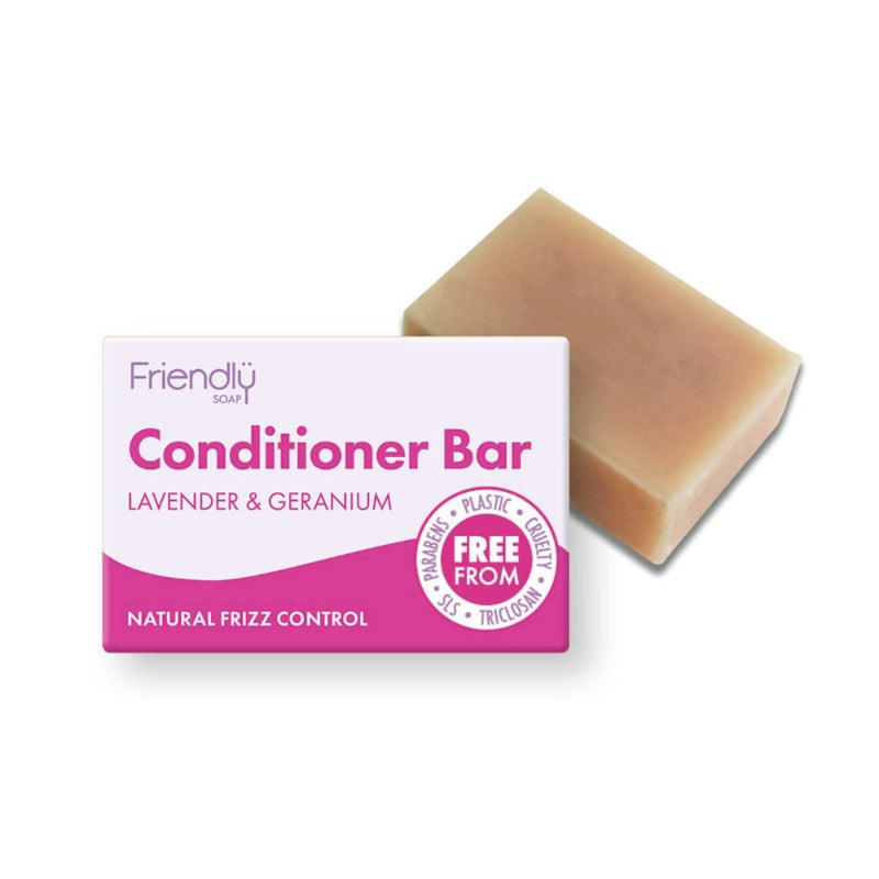 Friendly Natural Conditioner Bar Lavender & Geranium
