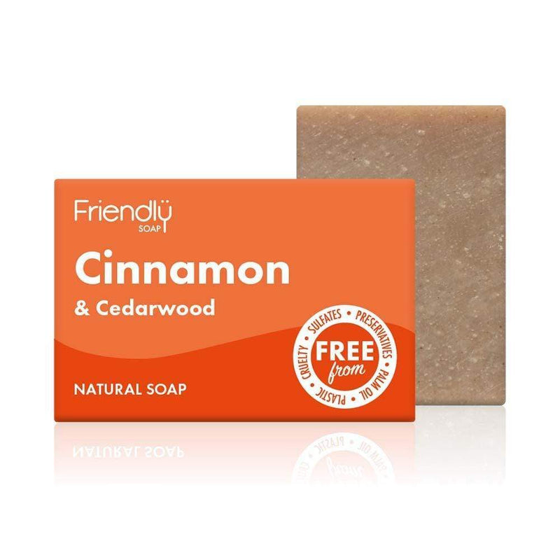 Friendly Soap Cinnamon & Cedarwood