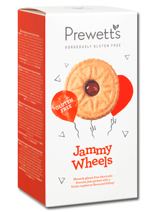 Prewetts Jammy Wheel Biscuits