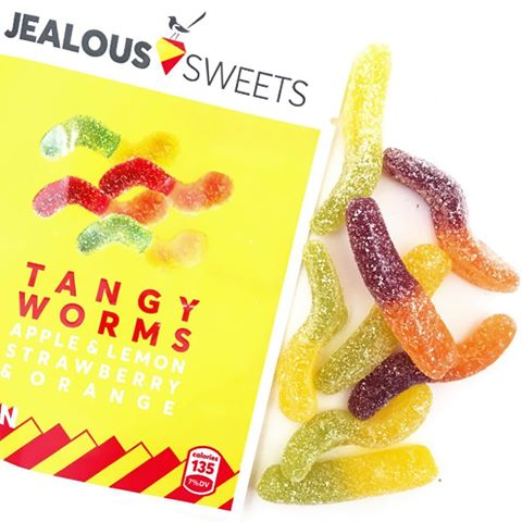 Jealous Sweets Tangy Worms