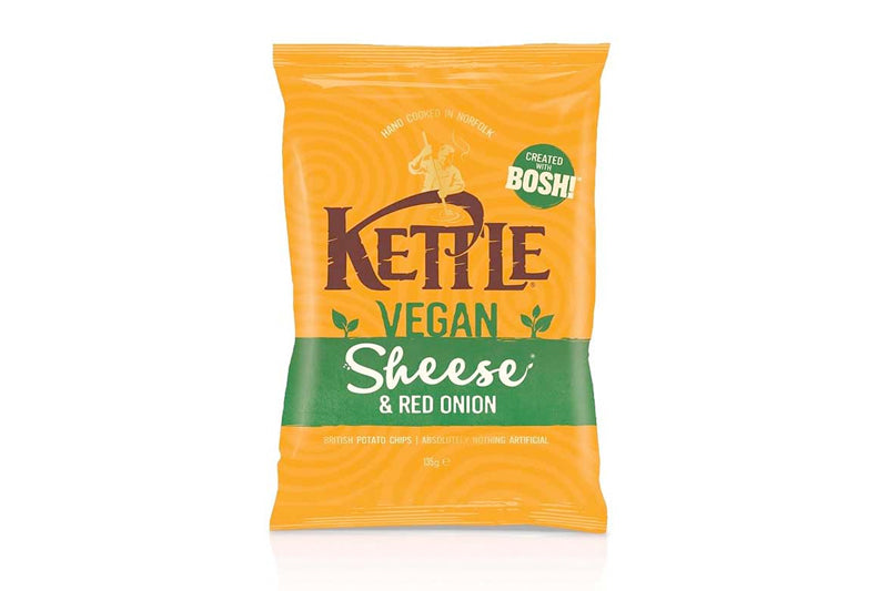 Kettle Chips Vegan Sheese & Red Onion