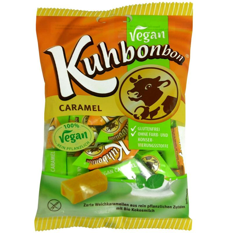 Kuhbonbon Vegan Creamy Caramels Best Before 23.9.20