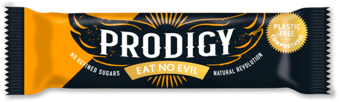 Prodigy Chunky Orange Chocolate Bar