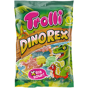 Trolli DinoRex Extra Sour Jellies - Best Before Date 09/04/20