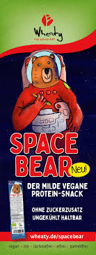 Wheaty Space Bear Hot Dog Snack