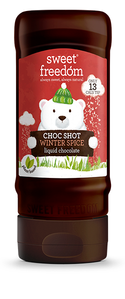 Sweet Freedom Choc Shot Winter Spice Liquid Chocolate