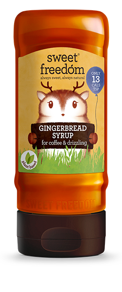 Sweet Freedom Gingerbread Fruit Based Syrup