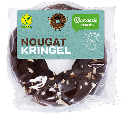 Vantastic Foods Nougat Kringel Shortbread with a Nougat Cream Filling