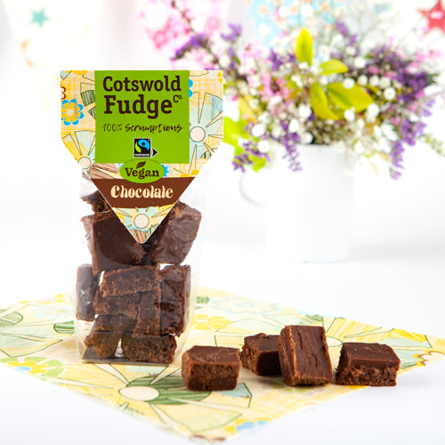 Cotswold Fudge Company Chocolate Fudge BEST BEFORE 18.02.2021