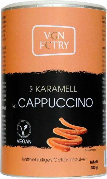 VGN FCTRY Karamell Cappuccino Mix