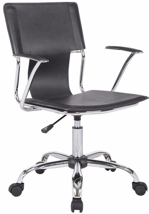 BUTLER Designer Leather Effect Office Chair