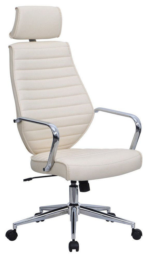 ATLAS Designer Leather Effect Executive High Back Office Chair