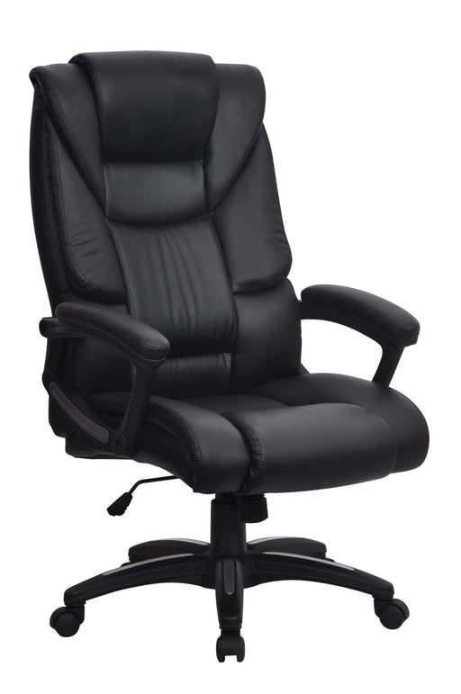 FARRINGDON High Back Leather Effect Ergonomic Executive Office Chair