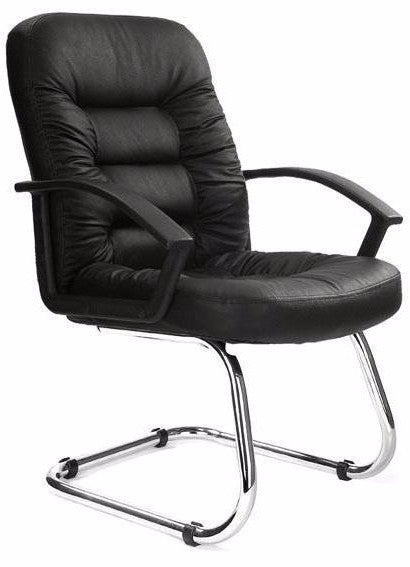 FINCHLEY-C Executive High Back Leather Visitors Meeting Office Chair