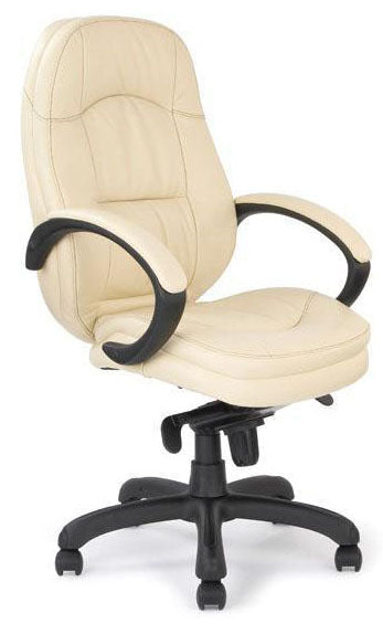 LEYTON Stylish Leather Faced Executive Ergonomic Office Chair