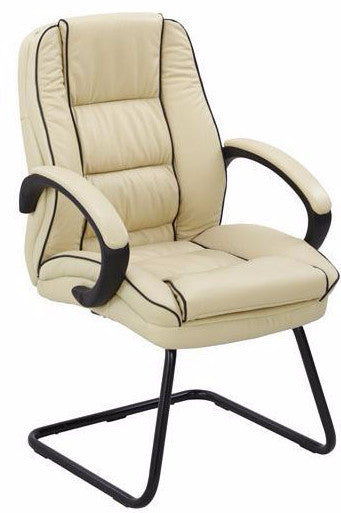 HARRISON-C Leather Executive Visitors Meeting Office Chair