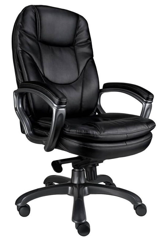 CLIFTON Designer Ergonomic High Back Leather Faced Office Chair