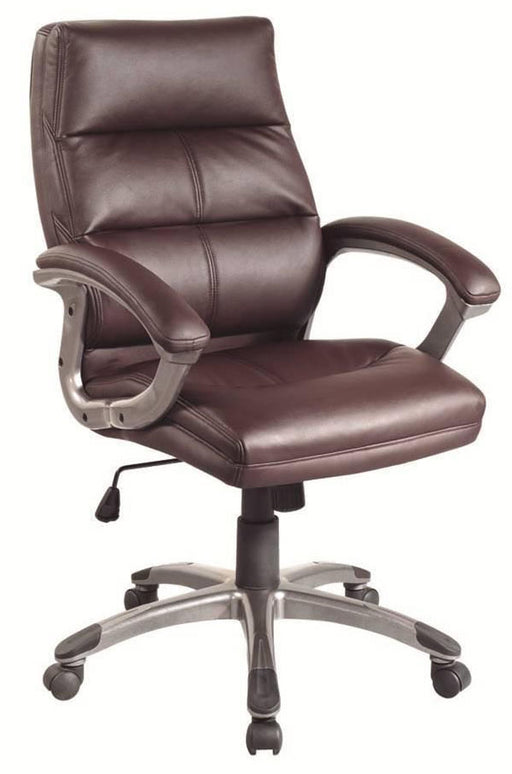 GREENWICH Medium Back Leather Effect Executive Office Chair