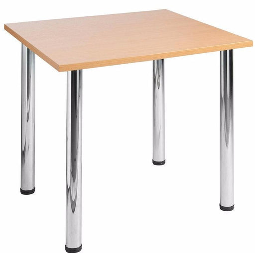 Aspire Square Office Meeting Table with Tubular Steel Frame