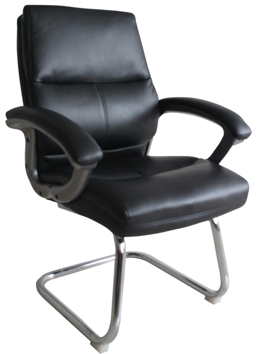 GREENWICH- C Luxury Executive Leather Effect Visitors Meeting Office Chair