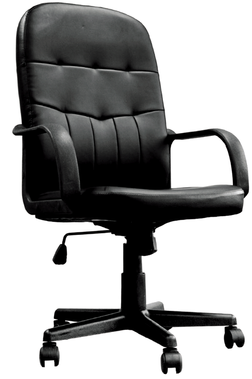 CHESTERFIELD Designer High Back Bonded Leather Managers Office Chair