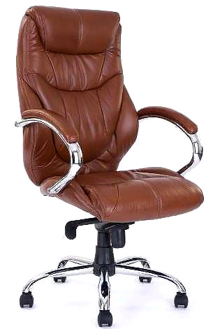 LEICESTER High Back Luxurious Ergonomic Leather Office Chair - Office chairs leicester