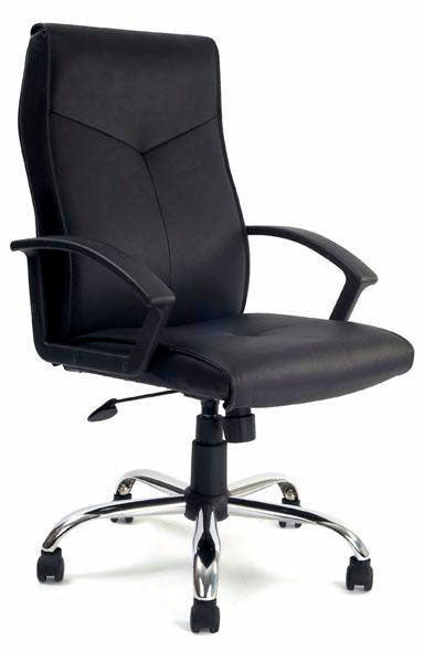 WESTON Leather Faced Executive Office Chair