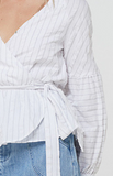 Amal Shirt - White Stripe