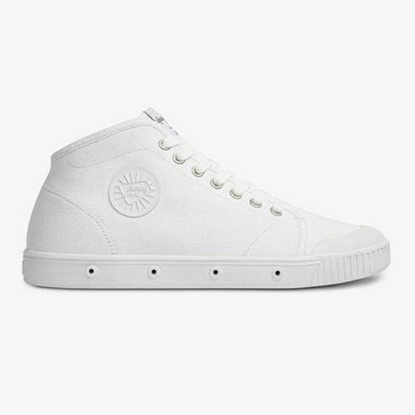 B2s Organic Canvas Sneakers - White (mid-cut)