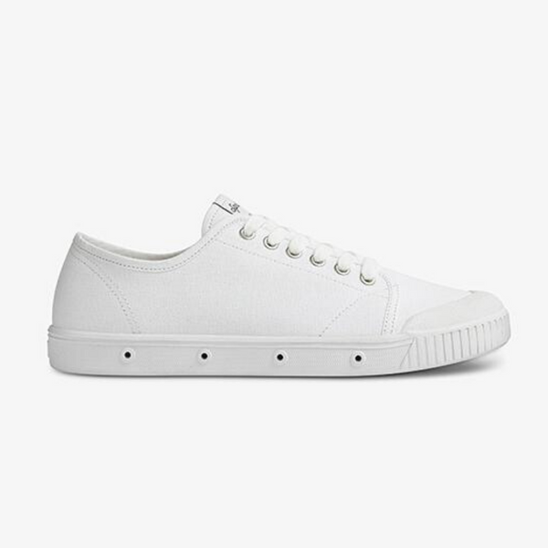 G2s Classic Organic Canvas Sneakers - White