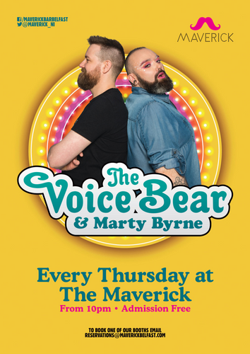 22:00 | The Voice Bear & Marty Byrne | The Maverick